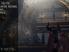 Update V0.770 New Player Home, Weapons, and Poses