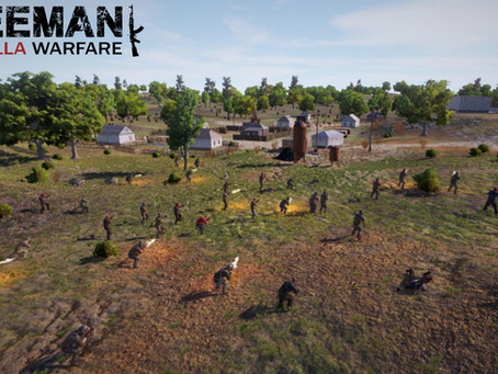 If you like strategy, FPS and management games, you'll get all in one in Freeman: Guerrilla Warfare.