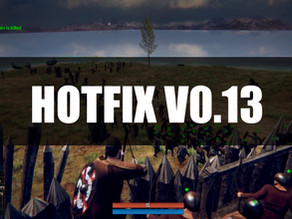 Hot Fix V0.13