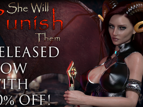 THE WAIT IS OVER! SHE WILL PUNISH THEM IS OUT! WITH 40% DISCOUNT!