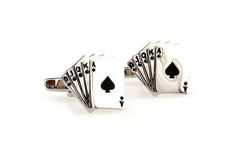PLAY CARD CUFFLINKS