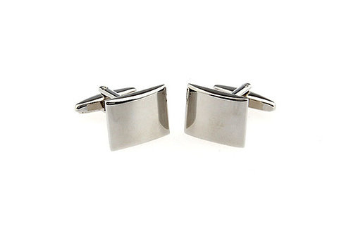 CLASSIC RECTANGLE ALLOY CUFFLINKS