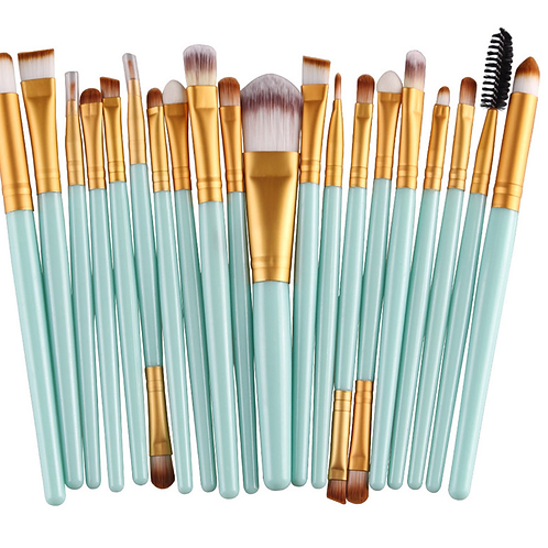 FULL FACE MAKEUP BRUSH SET (22 pcs)