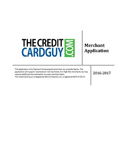 Merchant Account Application