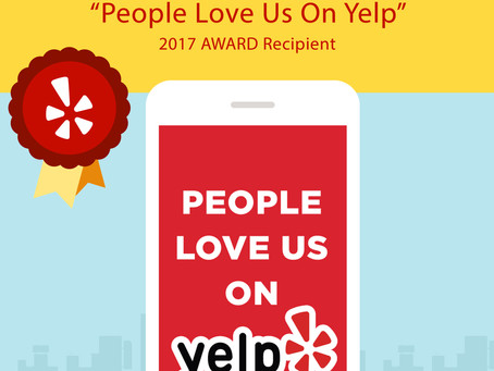 Did You Know.............YELP Loves Us!
