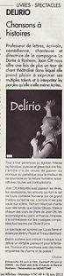 La Dorée - Delirio - DNA Juin 2013
