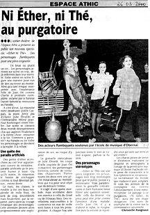 La Dorée - Ether ni thé - DNA Mars 2000