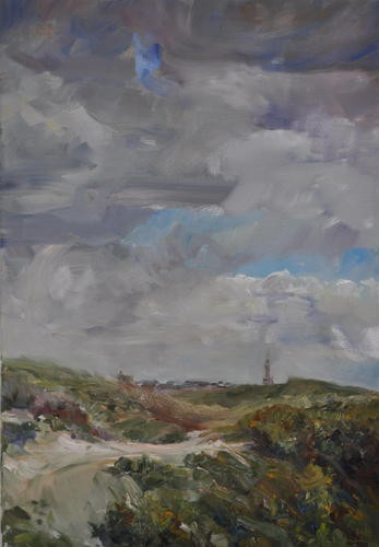 Katwijk Noordduinen 2, 2011, 65 x 45 cm.