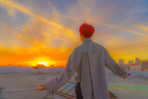 LA Hobi sunset