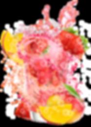 mango strawberry sparkling water