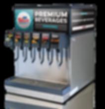 carbonated beverage dispenser