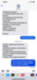Text, moonstruck, service