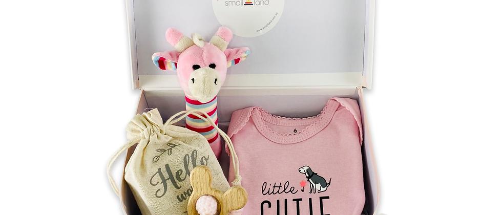 BABY GIRL SUITCASE GIFT BOX