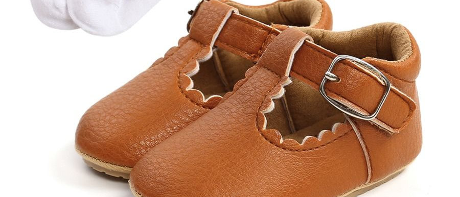 BABY FLATS - BROWN