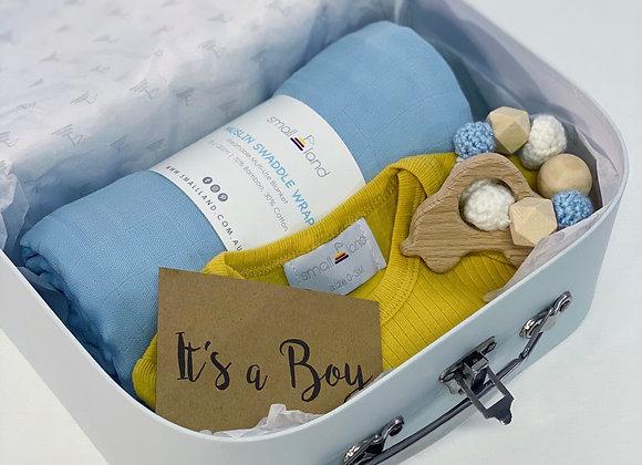 NEWBORN BABY BOY GIFT BOX