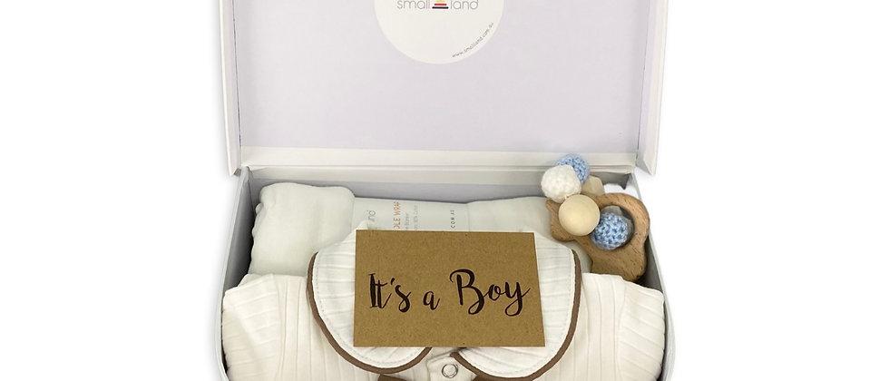 BABY BOY SUITCASE GIFT BOX