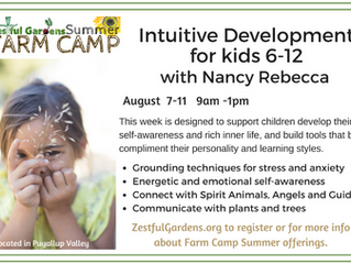 Intuitive Development Camp for Kids 6-12