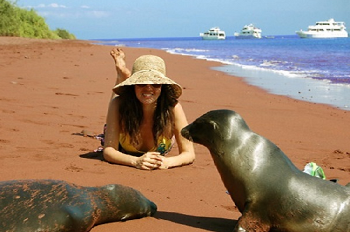 Luxury Galapagos island