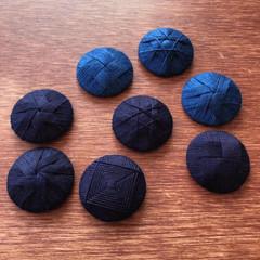 本藍  綿糸 100%