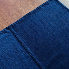 本藍  Organic cotton 100%