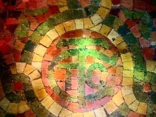 Tiffany Glass Co. Logo in Chapel Floor