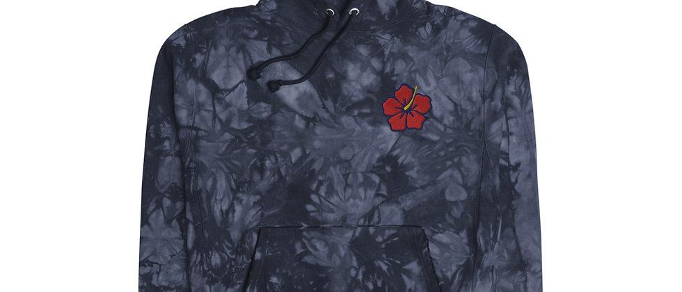 Champion Hibiscus tie-dye hoodie