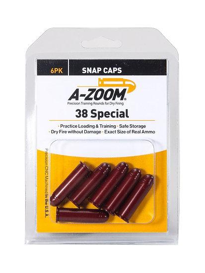 A-ZOOM KLIKKPATRON .38 SP/357MAG 6PK
