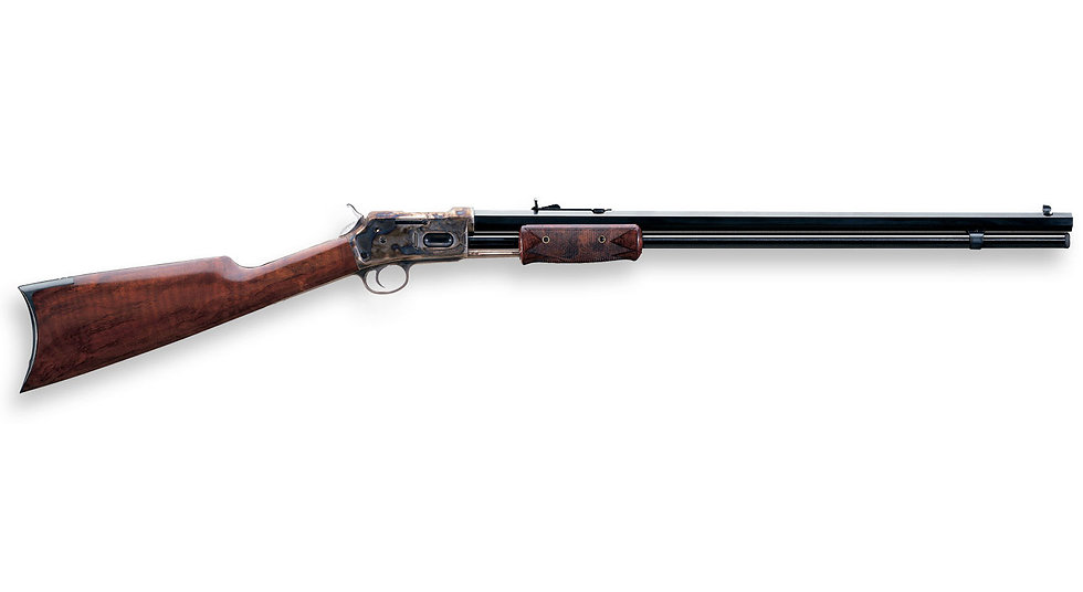 "7269 UBERTI 1884 PUMP ACTION RIFLE 20"" BLUED FRAME 44/40"