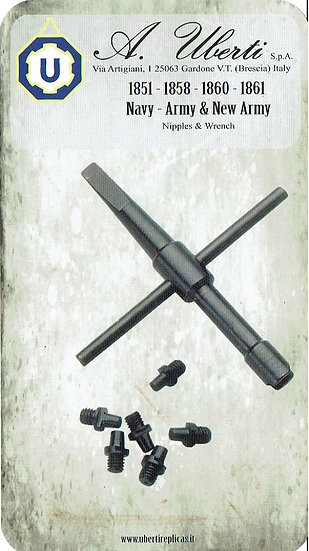 1851-1858-1860-1861 NAVY, ARMY NIPPLES KIT