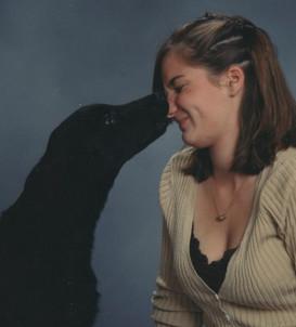 Doggy kisses!