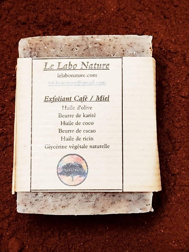 Exfoliant  cafe/miel