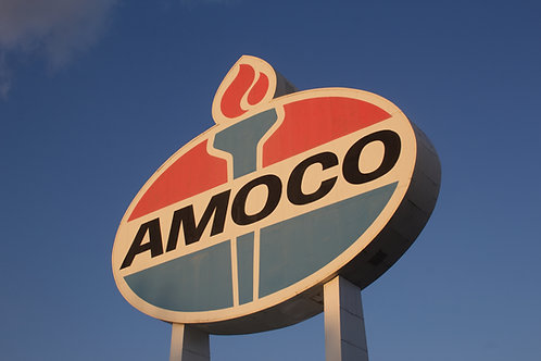 Amoco Sign