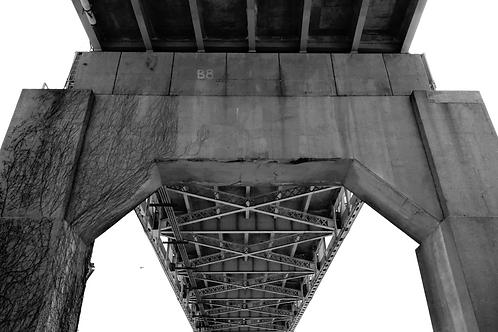 Martin Luther King Bridge STL Riverfront