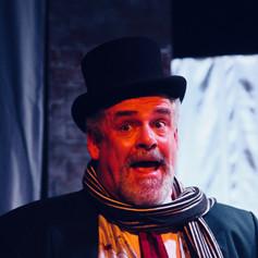 Simon as Charles Dickens
