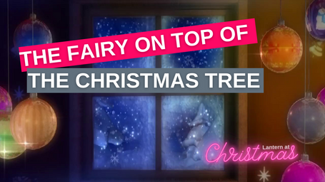 The Fairy On Top Of The Christmas Tree