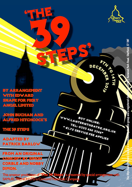The 39 Steps Flyer