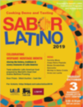 Sabor Latino 2019 for social media posti