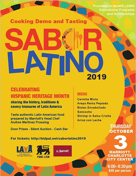 Sabor Latino 2019 for social media posti