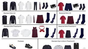 Uniform Guide 2021-2022