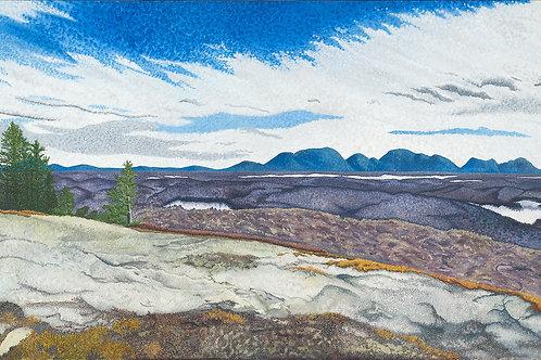 Overlooking Acadia Print