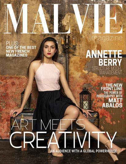 Kanou Digital Cover MALVIE Magazine spre