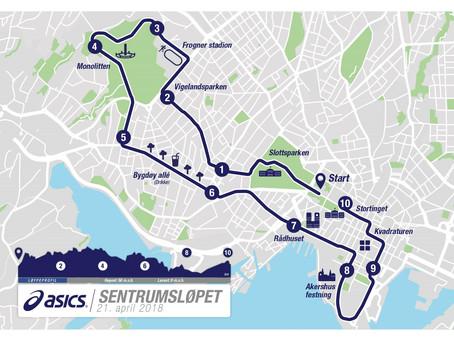 Внимание! Завтра, в субботу 21 апреля в центре Осло проходит марафон