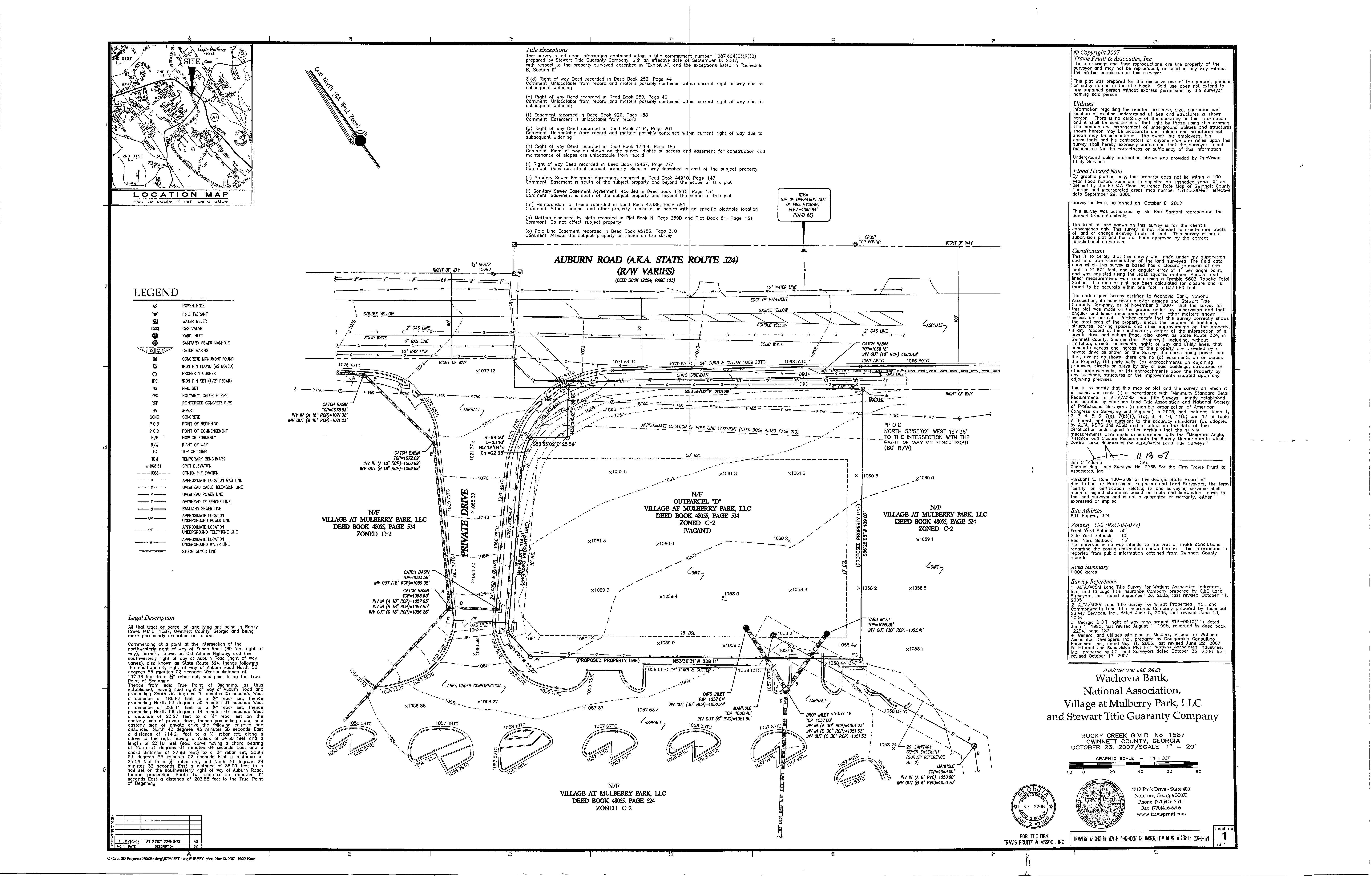 ALTA Land Title Survey