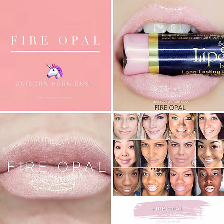 Fire Opal LipSense - Independent Distributor of SheerSense - LipSense - Senegence - SheerSense Opportunity