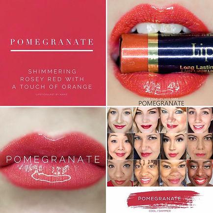 Pomegranate LipSense - Independent Distributor of SheerSense - LipSense - Senegence - SheerSense Opportunity