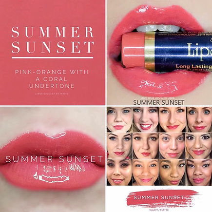 Summer Sunset Lipsense - Independent Distributor of SheerSense - LipSense - Senegence - SheerSense Opportunity