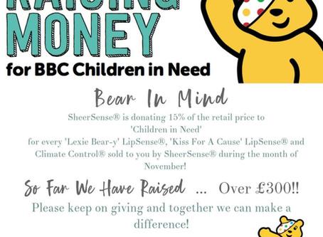 SheerSense®️ Support Children in Need