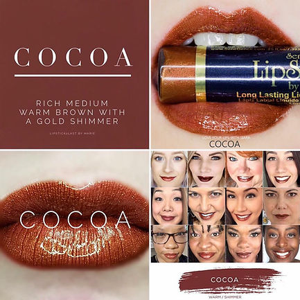 Cocoa LipSense - Independent Distributor of SheerSense - LipSense - Senegence - SheerSense Opportunity