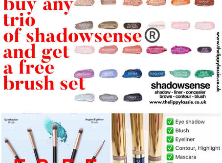 Free Brushes with ShadowSense®️ Offer