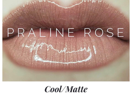 Colour of the week is Praline Rose